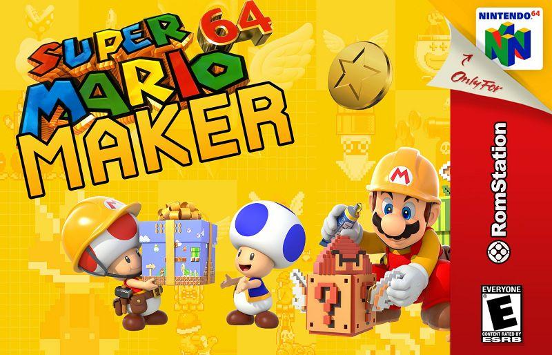 Super Mario 64 Maker play online, Download Rom RetrOnline