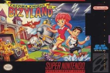 Cacoma Knight in Bizyland