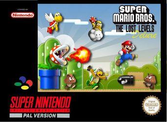 Super Mario Bros: The Lost Levels Deluxe (Hack) Super