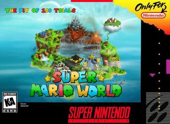 Super Mario World: The Pit Of 100 Trials (Hack)