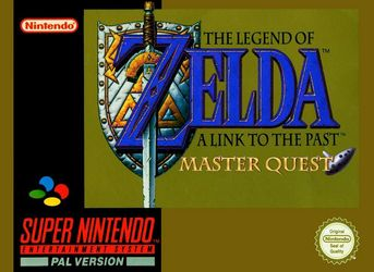 The Legend of Zelda : A Link to the Past - Master Quest (Hack) Super