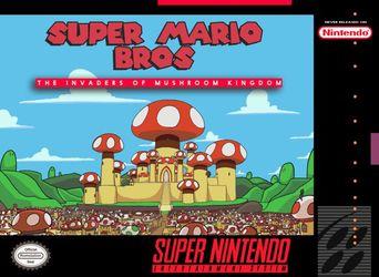 Super Mario Bros The Invaders Of Mushroom Kingdom Super Nintendo